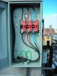 Commercial Power box